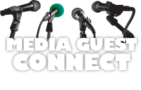 Media Guest Connect. Seen. Heard. Connected.